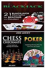 Blackjack & Chess Checkmate & Poker