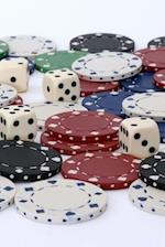 Dice and Poker Chips Gambling Journal