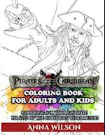 Pirates of the Caribbean Coloring Book for Adults & Kids