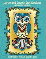 Large and Lovely Owl Designs