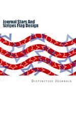 Journal Stars and Stripes Flag Design