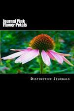 Journal Pink Flower Petals