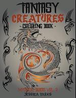 Fantasy Creatures Coloring Book