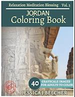 Jordan Coloring Book for Adults Relaxation Vol.3 Meditation Blessing