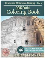 Jordan Coloring Book for Adults Relaxation Vol.4 Meditation Blessing