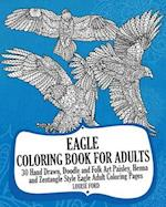 Eagle Coloring Book for Adults