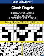 Clash Royale Trivia Crossword Word Search Activity Puzzle Book