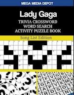 Lady Gaga Trivia Crossword Word Search Activity Puzzle Book