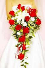 Wedding Journal Red Rose Bridal Bouquet