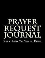 Prayer Request Journal