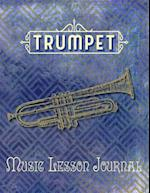Trumpet Music Lesson Journal