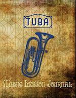 Tuba Music Lesson Journal