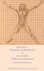 Proportion in Architecture & a Theory of Proportion