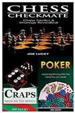 Chess Checkmate & Craps & Poker