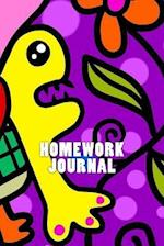 Homework Journal