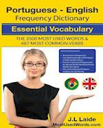 Portuguese English Frequency Dictionary - Essential Vocabulary
