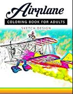 Airplane Coloring Books for Adults