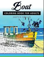 Boat Coloring Books for Adults