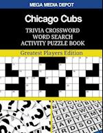 Chicago Cubs Trivia Crossword Word Search Activity Puzzle Book