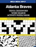 Atlanta Braves Trivia Crossword Word Search Activity Puzzle Book