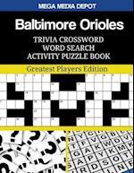 Baltimore Orioles Trivia Crossword Word Search Activity Puzzle Book