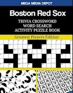Boston Red Sox Trivia Crossword Word Search Activity Puzzle Book