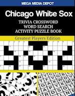 Chicago White Sox Trivia Crossword Word Search Activity Puzzle Book