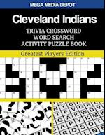 Cleveland Indians Trivia Crossword Word Search Activity Puzzle Book