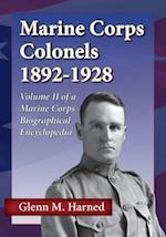Marine Corps Colonels 1892-1928