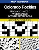 Colorado Rockies Trivia Crossword Word Search Activity Puzzle Book