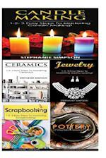 Candle Making & Ceramics & Jewelry & Scrapbooking + Pottery