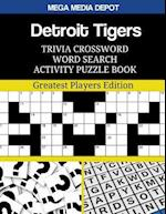 Detroit Tigers Trivia Crossword Word Search Activity Puzzle Book