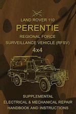 Land Rover 110 Perentie Regional Force Surveillance Vehicle (Rfsv) 4x4