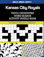 Kansas City Royals Trivia Crossword Word Search Activity Puzzle Book