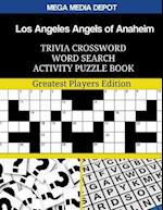 Los Angeles Angels of Anaheim Trivia Crossword Word Search Activity Puzzle Book