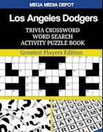 Los Angeles Dodgers Trivia Crossword Word Search Activity Puzzle Book