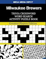 Milwaukee Brewers Trivia Crossword Word Search Activity Puzzle Book