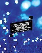 Composition Notebook Glitter Feeling
