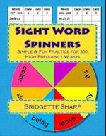 Sight Word Spinners Grades 1 - 3