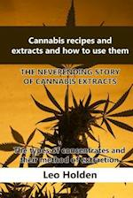 Cannabis Recipes and Extracts and How to Use Them