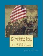 Pennsylvania Civil War Soldiers Index