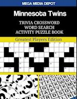 Minnesota Twins Trivia Crossword Word Search Activity Puzzle Book
