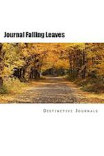Journal Falling Leaves