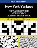 New York Yankees Trivia Crossword Word Search Activity Puzzle Book