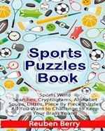 Sports Puzzles Book
