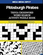 Pittsburgh Pirates Trivia Crossword Word Search Activity Puzzle Book