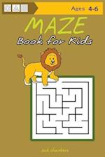 Maze Book for Kids Ages 4-6