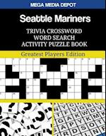 Seattle Mariners Trivia Crossword Word Search Activity Puzzle Book