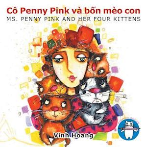 Co Penny Pink Va Bốn Meo Con
