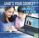 What's Your Source? (All about Media)